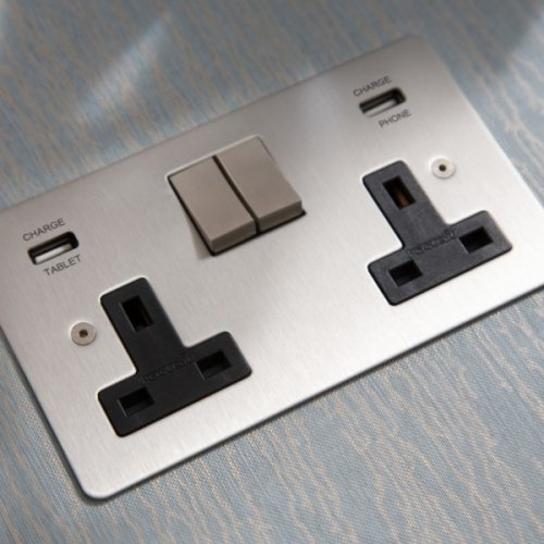 Sockets with USB -…
