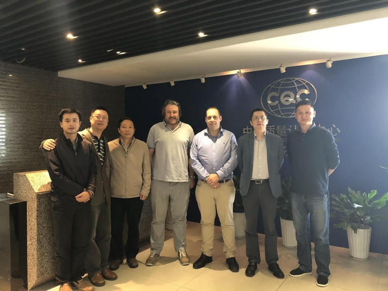 Image caption: (from left to right) Zhangfeng Zheng, director of the CQC, Chen Liu (CQC), Guangcheng Zhang, deputy director CQC, Mark Curtis, Focus SB's technical manager, Duncan Ray, Focus SB's NPI manager, Mark Tang, Kursel Ltd and Mr Yu, Hangzhou branch director CQC.