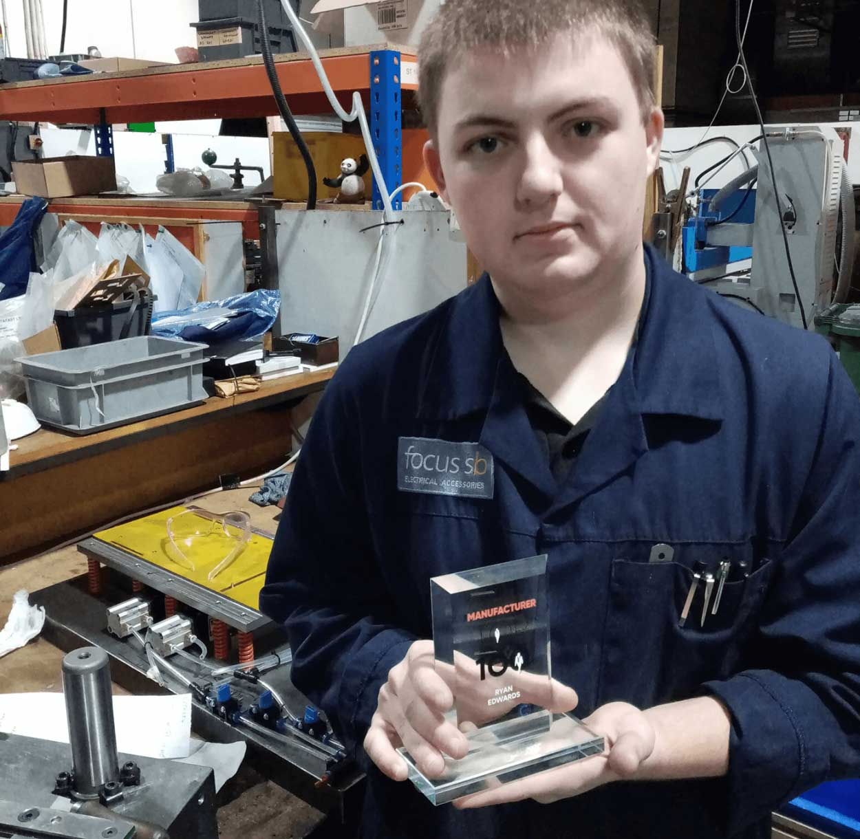 Engineering Apprentice wins Top 100 award