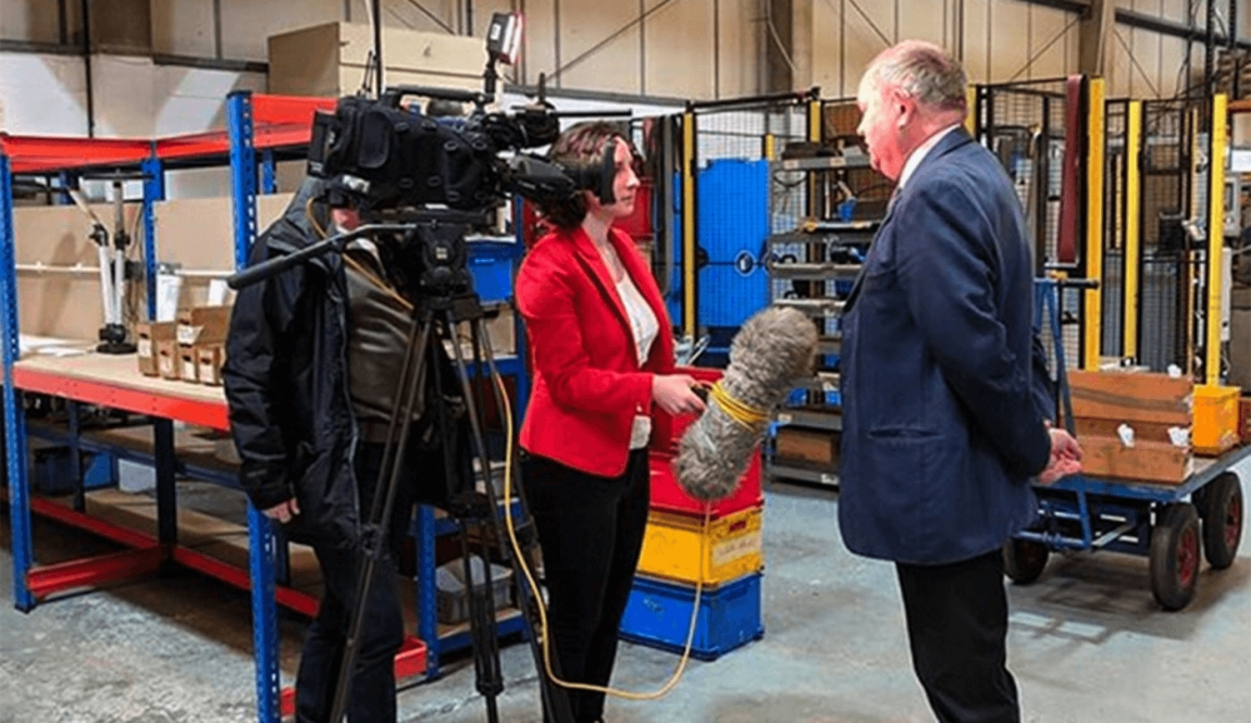 BBC South East's political editor Helen Catt interviews Focus SB chairman Roger Kemp for a special report on the impact of a no deal Brexit.
