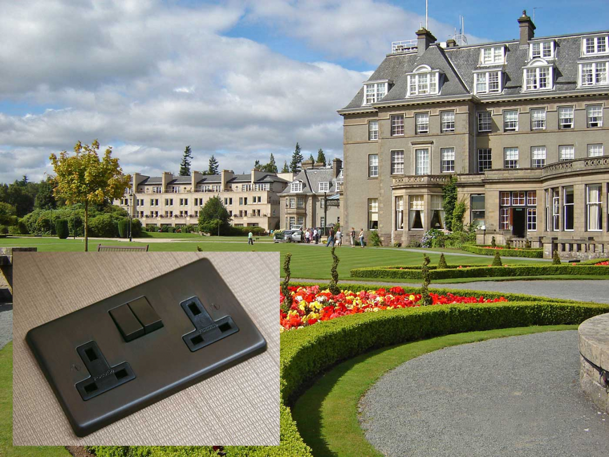 Focus SB selected for exclusive Gleneagles Hotel in Scotland